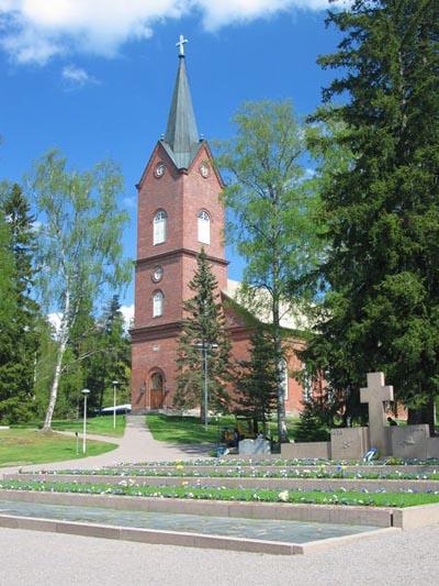 Finse Oorlogsgraven Mäntsälä