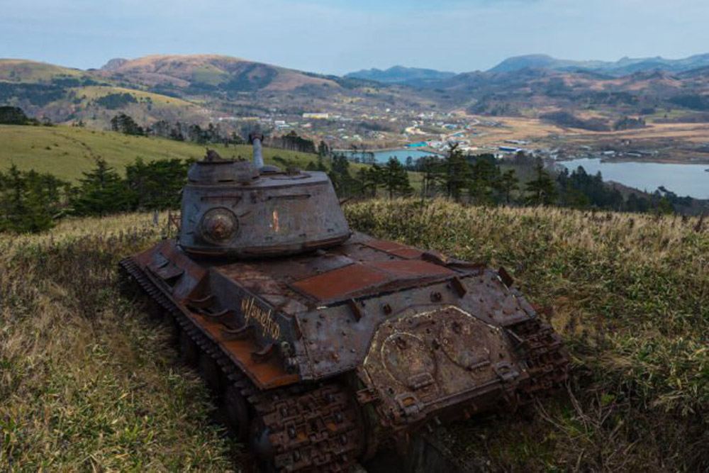 Tank Bunkers T-34/85, S-2, IS-3)