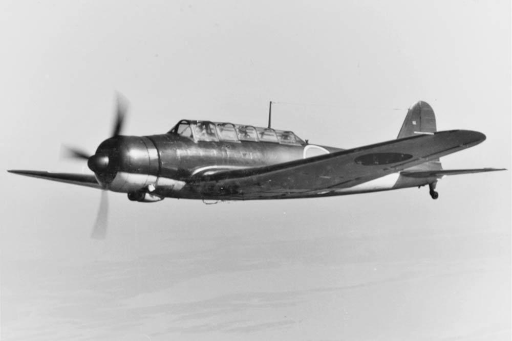 Crashlocatie & Restant Nakajima B5N