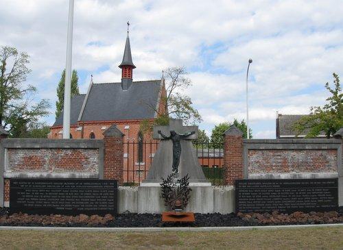 Oorlogsmonument Begraafplaats Eeklo