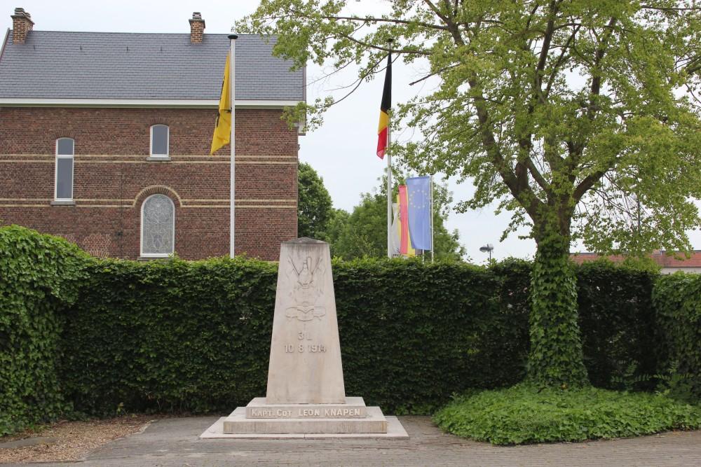 War Memorial 3rd Lancers Regiment Orsmaal