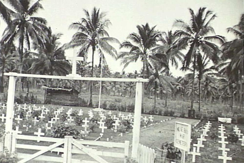 Locatie Milne Bay War Cemetery