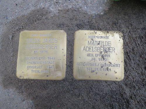 Stolpersteine Schwetzinger Straße 1