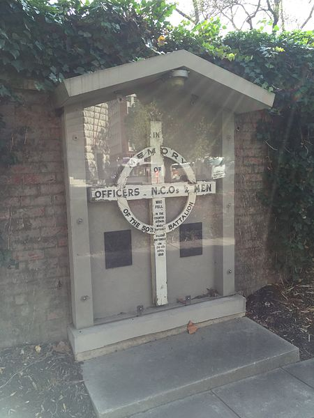 50th Battalion Villers Brettoneux Cross