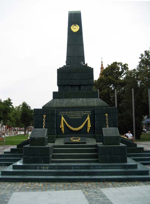 Mass Grave Russian Soldiers & Liberation Memorial Zvolen 1945