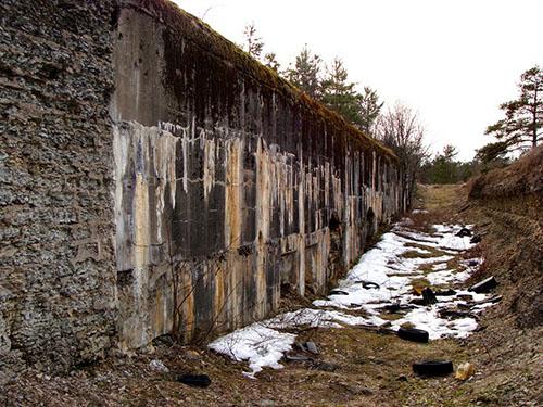Russische Bunker Nr. 5