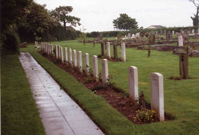 Commonwealth War Graves Longcross Cemetery