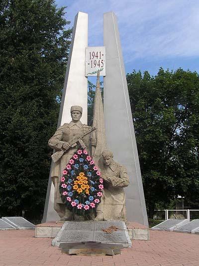 Mass Grave Soviet Soldiers Dvoricha