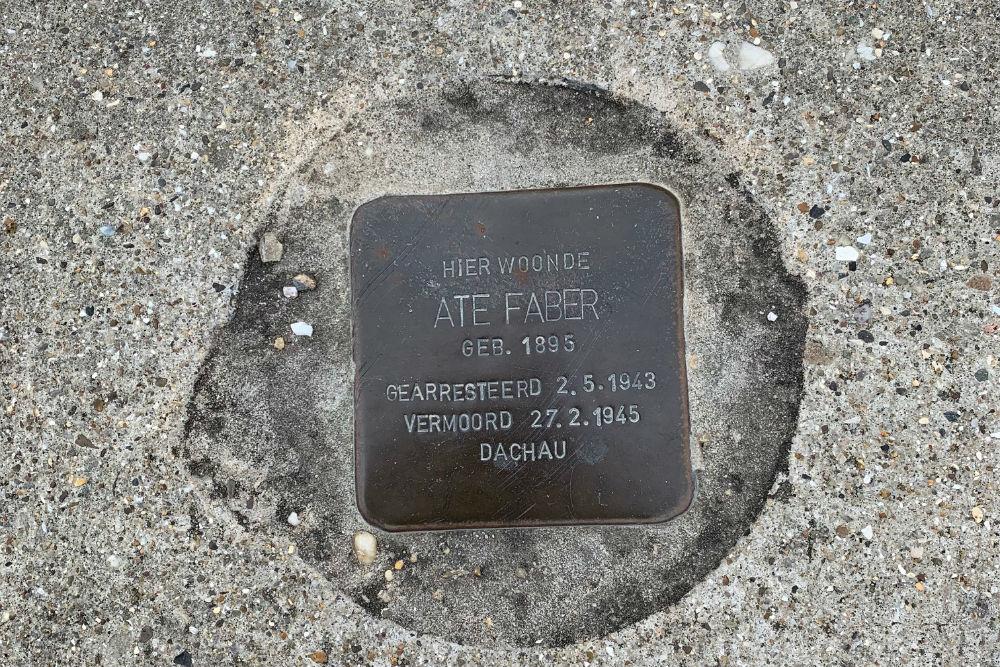 Stolperstein Friesestraatweg 430
