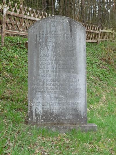 Joods Monument Schleiden