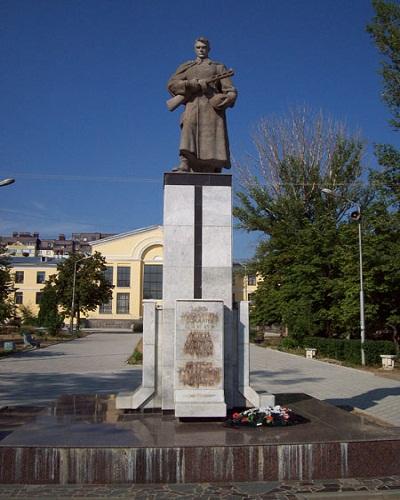 Massagraf Sovjet Soldaten Gagarinpark