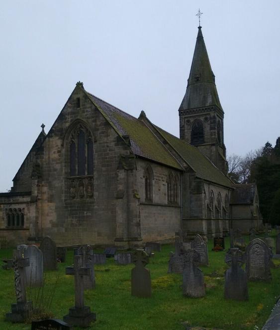Oorlogsgraf van het Gemenebest All Saints Churchyard