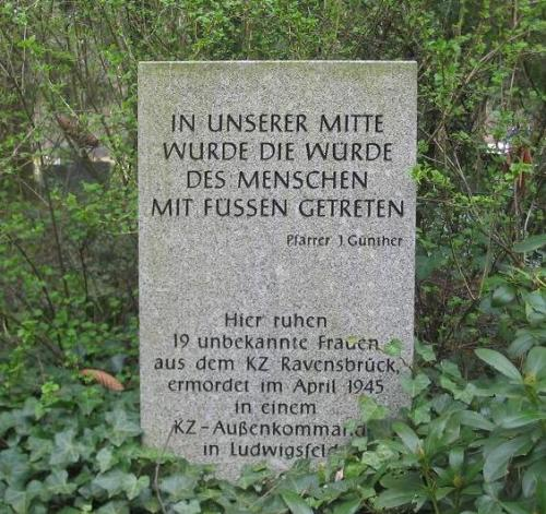 Collective Grave Victims Ravensbrück