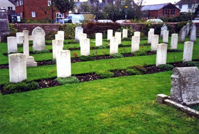 Commonwealth War Graves Wareham Cemetery