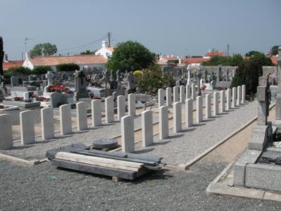 Commonwealth War Graves Noirmoutier-en-l'Ile