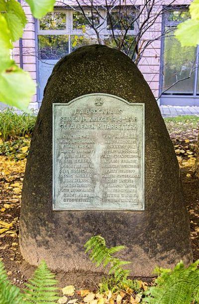 War Memorial F.A. Brockhaus