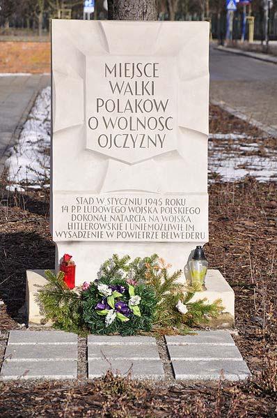 Monument Poolse 14e Infanterieregiment