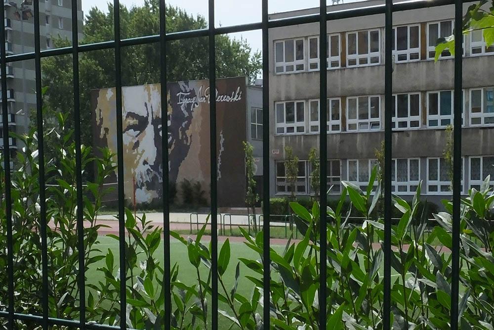 Mural Ignacy Paderewski