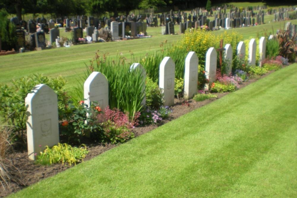Polish War Graves Auchinleck Old Cemetery