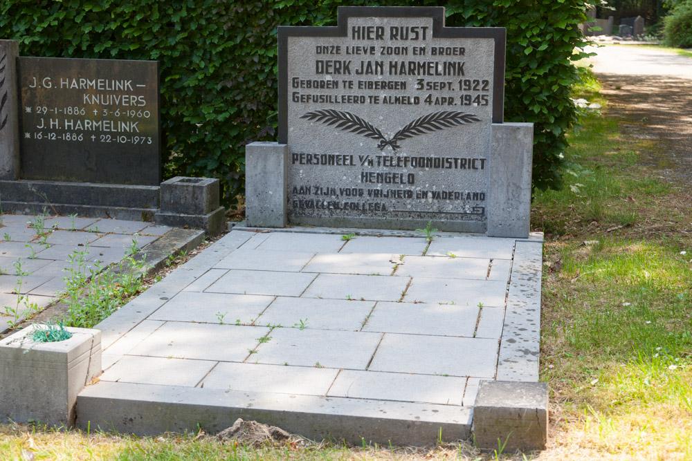Nederlandse Oorlogsgraven Protestante Begraafplaats Eibergen