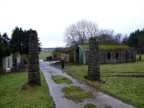 Remains Prisoner-of-War Camp Stuartfield