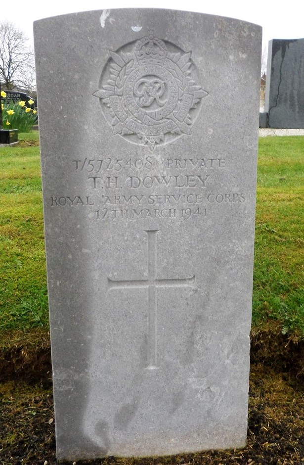 Commonwealth War Graves Antrim New Cemetery