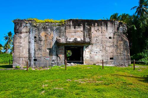 Japanese Bunker Roi-Namur