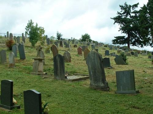 Oorlogsgraven van het Gemenebest Berriew Churchyard Extension