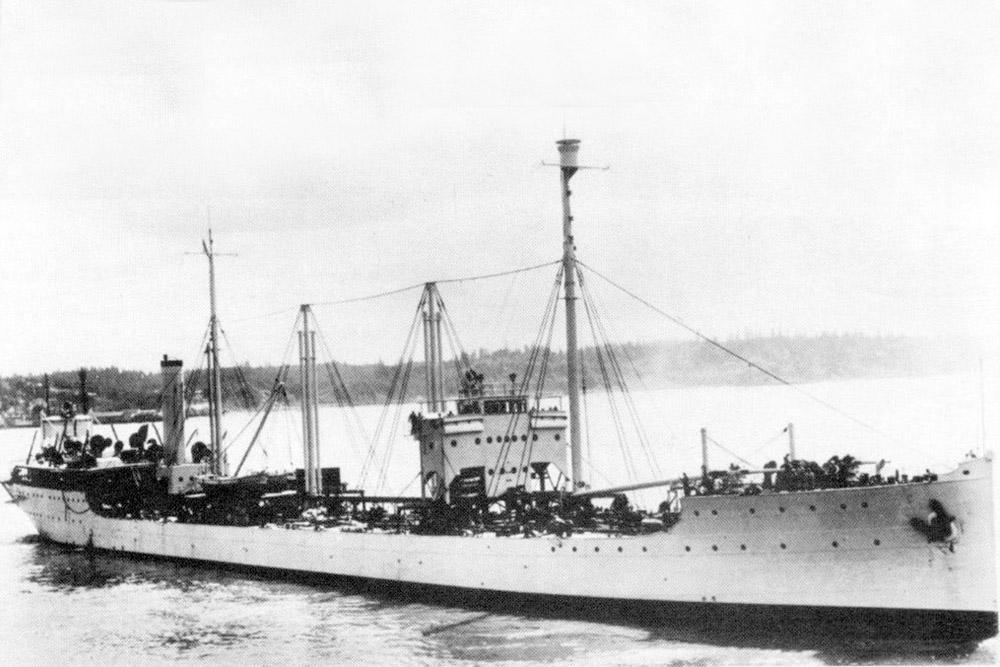 Shipwreck USS Kanawha (AO-1)