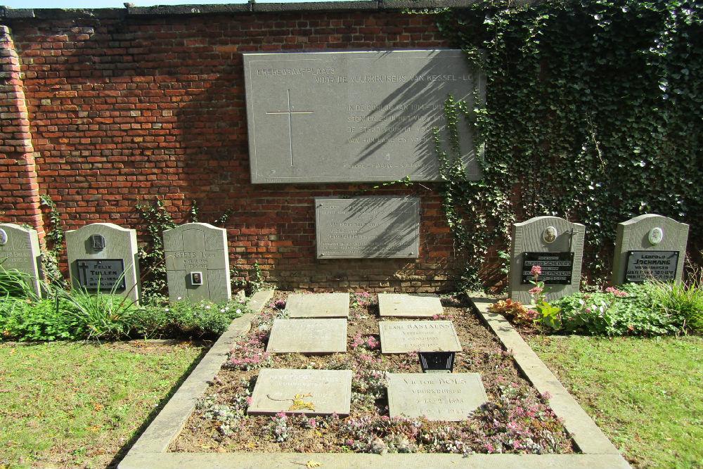 Graves War Veterans Kessel-Lo