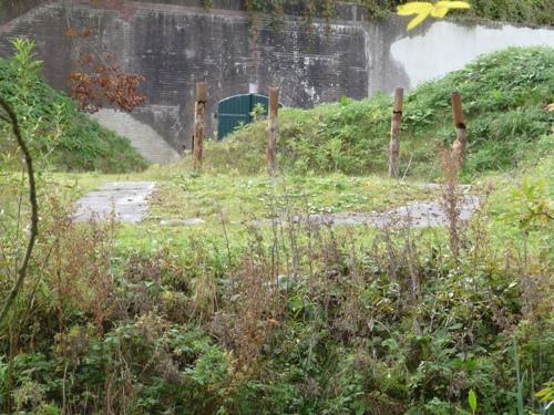 Remains G-Casemate Fort 't Hemeltje