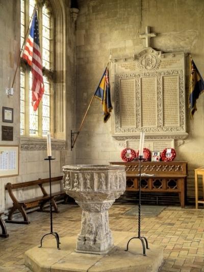 Oorlogsmonument St. Peter and St. Paul Church Lavenham