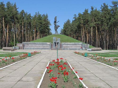 Soviet War Cemetery Lebedyn