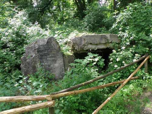 Pommernstellung - Restant Bunker Zdbice