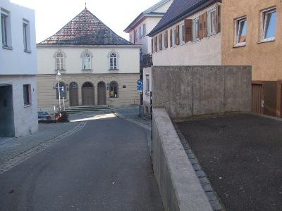 Memorial Kristallnacht Hechingen