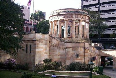 Shrine of Remembrance Brisbane
