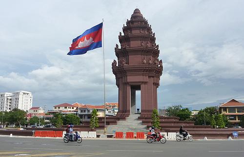 Onafhankelijkheidsmonument Cambodja