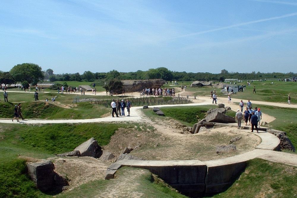 Stützpunkt 75 - OB 15,5cm Geschütz