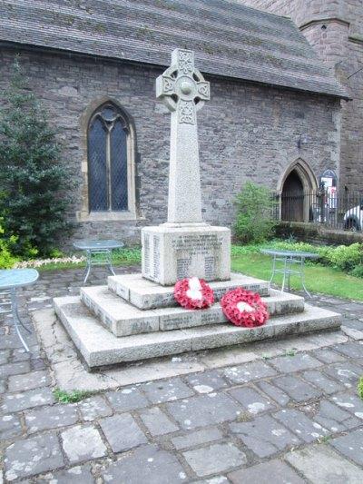 War Memorial St. John and St. Mary Church