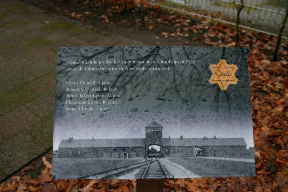 Joods Monument OBS De Vlinder