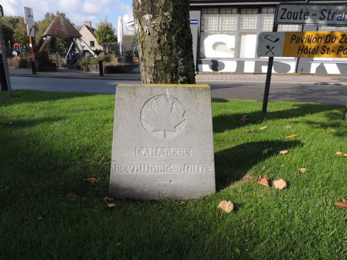 Marker No. 15 Canadian Liberation Route