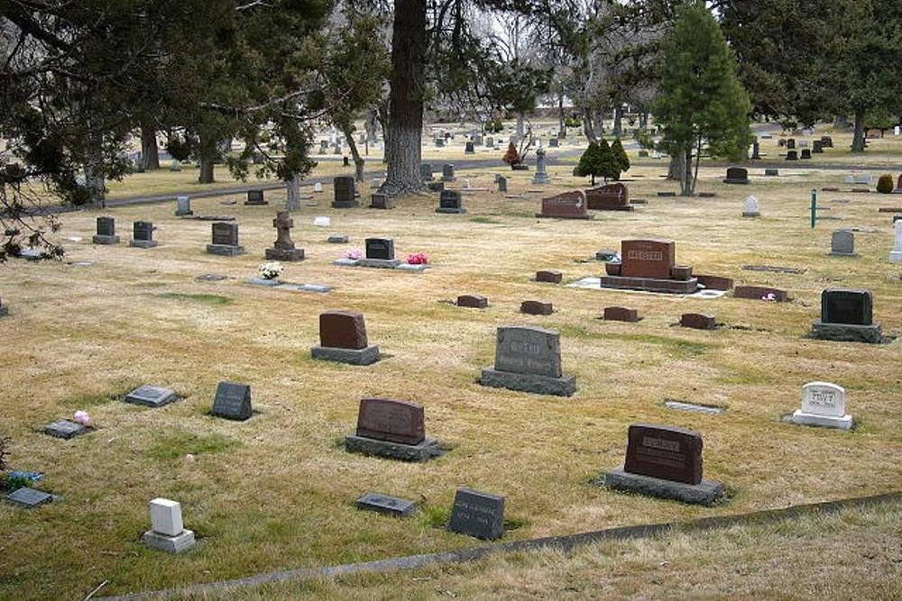 Amerikaans Oorlogsgraf Pilot Butte Cemetery