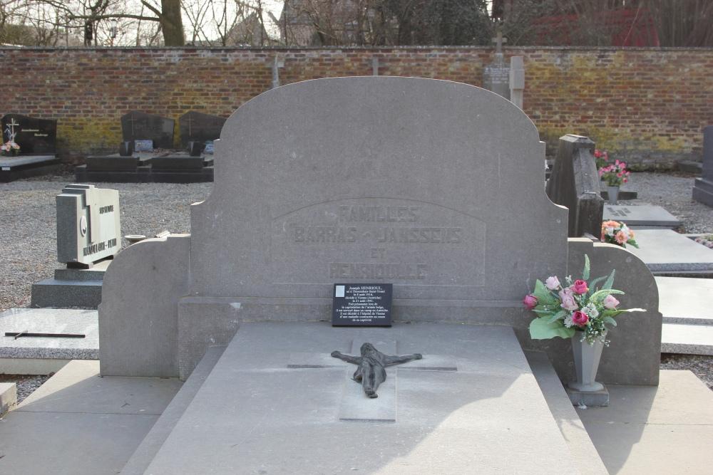 Belgisch Oorlogsgraf Thorembais-Saint-Trond