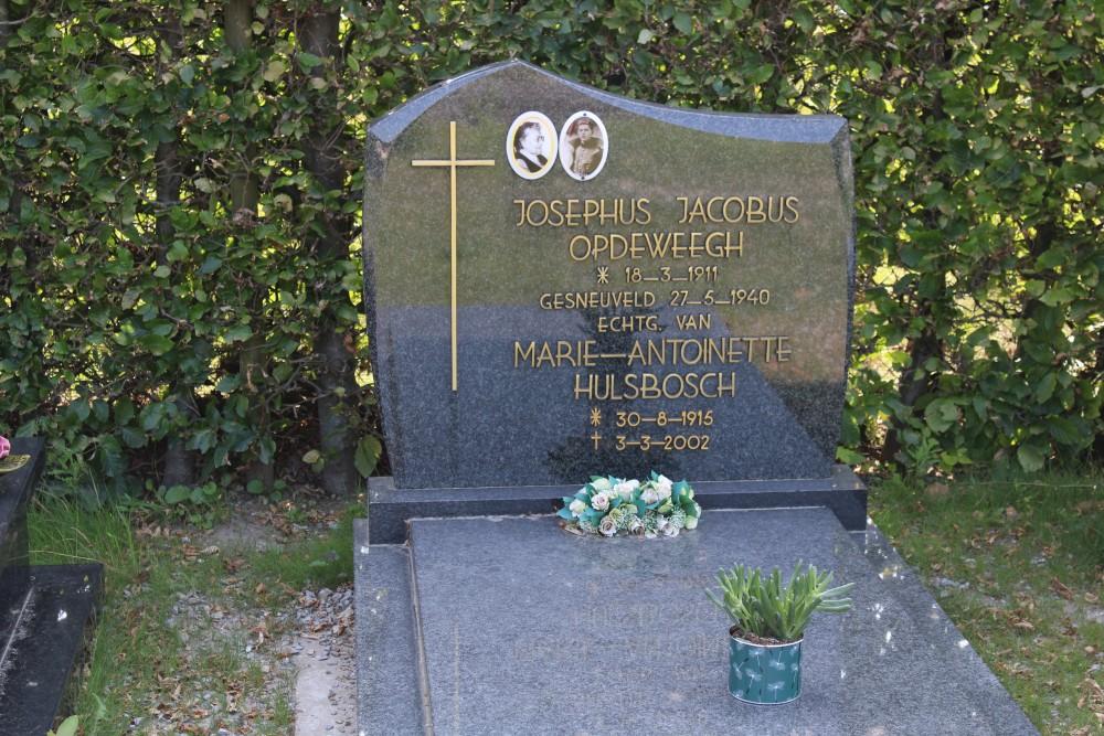 Belgisch Oorlogsgraf Gerdingen