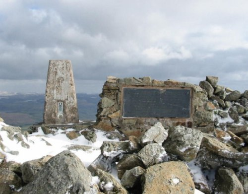 Memorial Crash Flying Fortress Arenig Fawr
