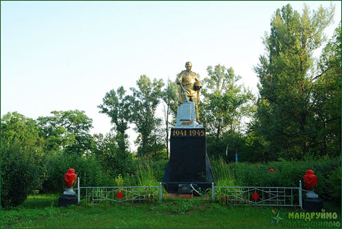 Mass Grave Soviet Soldiers Pisky