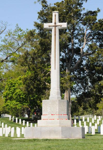 Canadees Cross Of Sacrifice Arlington National Cemetery Arlington