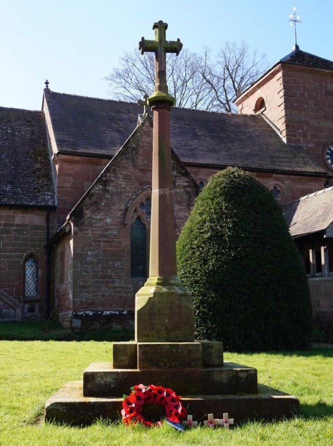 War Memorial Beckbury