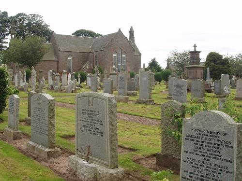 Oorlogsgraven van het Gemenebest Panbride Parish Churchyard