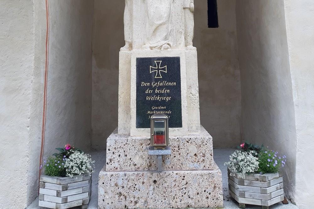 War Monument Stiftskirche Sankt Lambrecht
